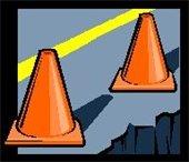 Road Construction Orange Cones (2)