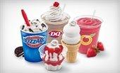 Dairy Queen Ice Cream treats