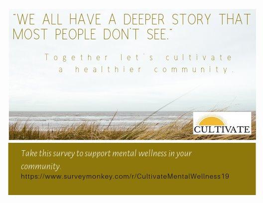 Cultivate - Community Mental Health Survey