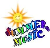 """Summer Music"" - multi color w/smiling sun"