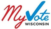 """My Vote Wisconsin"" website logo"