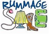 """Rummage Sale"" sign"