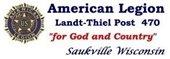 Amer. Legion Landt-Thiel Post 470, Saukville WI - logo