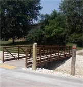 New No. Dries St. Foot Bridge