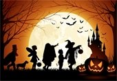 Halloween Night - trick or treaters
