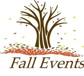 """""""Fall Events"""" - tree with falling leaves"""