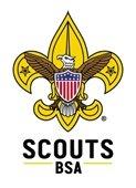 Boy Scout of America logo - Eagle w/Amer. flag shield